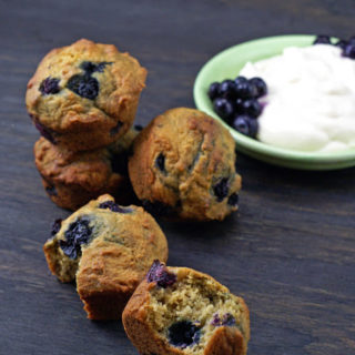 Junior League Blueberry Yogurt Muffins