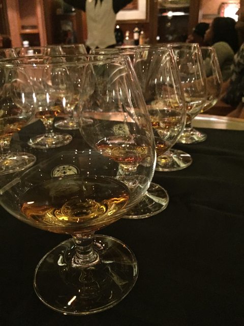 During the whiskey tasting on the Disney Dream we tried four whiskeys, learning about how they were made, the qualities of the liquor, the flavors and even some marketing secrets.